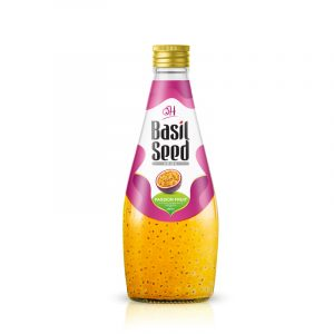 290ml OH Basil seed with Passion fruit