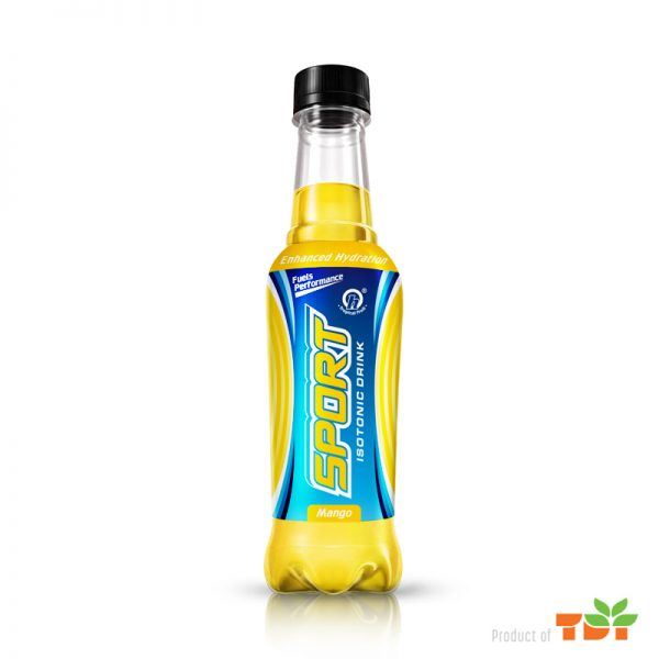 300ml TDT Isotonic Sport Drink with Mango flavor