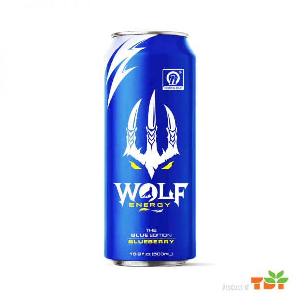 The Blue Edition Energy drink 500ml